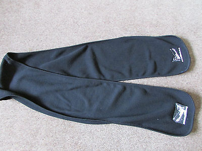 WILLIMENT New ZEALAND All Blacks RUGBY Union Travel Company Black Scarf