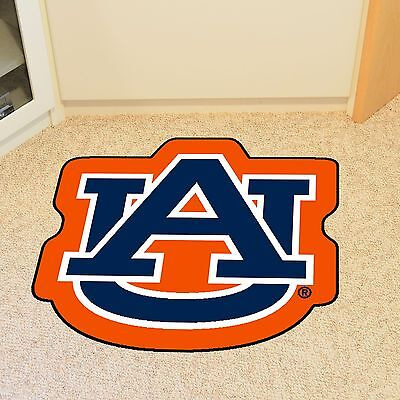 Auburn Tigers Mascot Shaped Area Rug Mat Great for the Man Cave Door