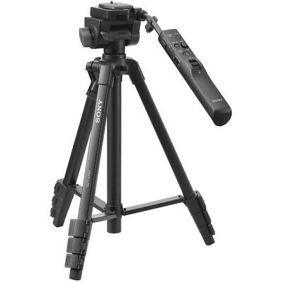 """Sony VCT-VPR1 57"""" Video Remote Control Tripod with 3-Way Pan / Tilt Head & Case"""