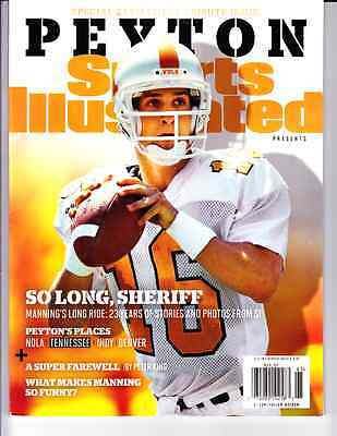 2016 Peyton Manning Tennessee Vols Sports Illustrated Retirement Tribute Issue