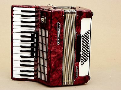 Excellent German Accordion Weltmeister Stella 60 bass Including Case