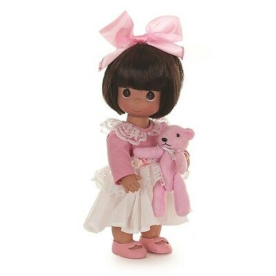 Precious Moments 12 Inch Doll, 'Bear Hugs To You', Brunette, New in Box, 6561