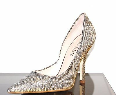 New Guess Pumps By Marciano Carrie2 Multi Metallic Color Fabric Color Size 9