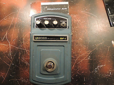 Vintage Boss Bf-1 Flanger Effects Pedal Made In Japan Original Rare