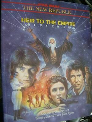 Star Wars Heir To The Empire Roleplaying Game Sourcebook, Paperback, 1992