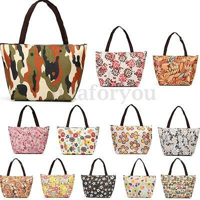 Large Lunch Bag Insulated Thermal Cooler Box Carry Tote Storage Travel Picnic
