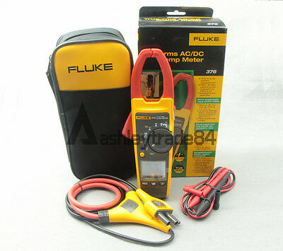 NEW Fluke 376 True-rms AC/DC Clamp Meter with iFlex
