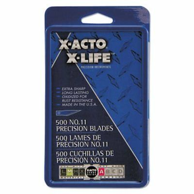 X-acto #11 Bulk Pack Blades for X-Acto Knives, 500/Box (EPIX511)