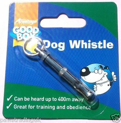 Armitage Good Boy Dog Training Whistle  Can Be Heard 400m Away Recall Whistle