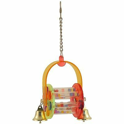 Fun Parrot toy with moving parts and sounds.