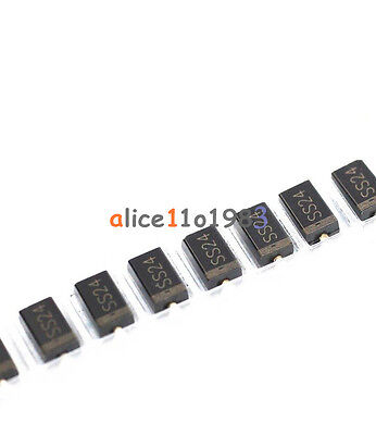 20Pcs Toshiba 1N5822 Ss24 Do-214Aa Smb Diode Schottky 2A 40V Good