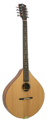 Ashbury Style E 8-String Bouzouki (GR33016) Complete w/ Case - NEW, FREE UK P&P