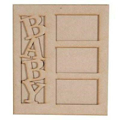 Creative Expressions MDF In the NURSERY PICTURE Frame BABY CEMDFPICFRAME