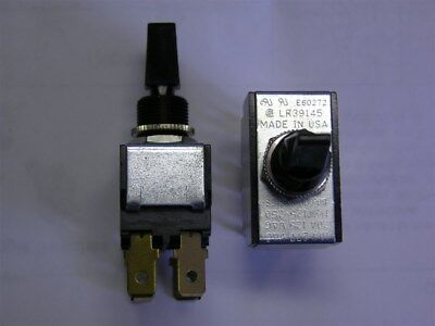 2 Carling 80,000 Series E60272 LR39145 6GM5S-NBL3 DPDT Momentary Toggle Switches