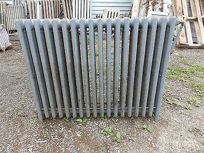 Vintage Hot Water Radiator 18 Sections Cast Iron Old Plumbing Heating 549-16