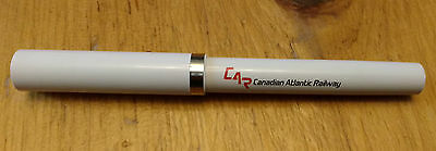 Vintage Canadian Atlantic Railway Sheaffer Pen Blue Ink Safety is First Screw