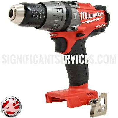 "Milwaukee 2704-20 FUEL M18 18V Brushless 1/2"" Cordless Hammer Drill Drill/Driver"