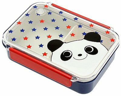 Kotobuki Snap-Lid Bento Box, Panda and Stars