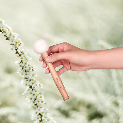 Two Rubber Mallets for Playing Crystal Singing Bowls