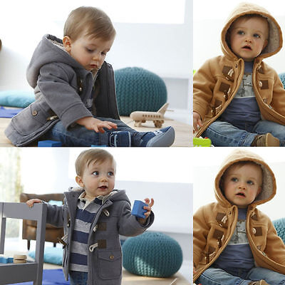 Baby Kids Boy Clothes Children Clothing Winter Hoodies Jacket Coats Outfits 1-7Y