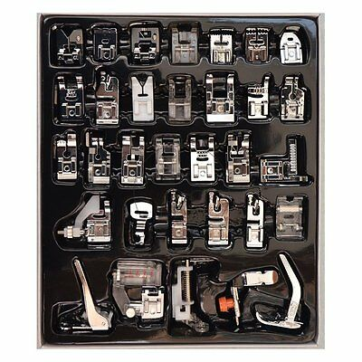 1set 32pcs Presser Foot Feet For Brother Singer Domestic Sewing Machine Part Hot