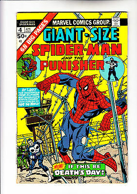 Giant Size Spider-Man 4 3rd app of The Punisher