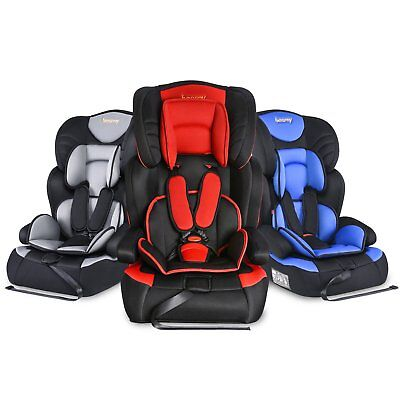 3 in1 Convertible Child Baby Car Seat Safety Booster Group 123 9-36kg 9m-12yrs