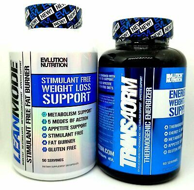 Evlution Nutrition Evl Fat Burner Stack: Trans4Orm 120 Caps + Lean Mode 150 Caps