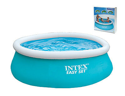 "Large 6' x 20""  Intex Easy Set Swimming Pool Paddling Pool Garden Pool Party"