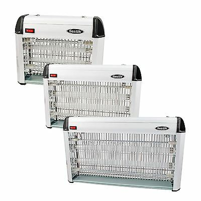 12w/20w/30w Electronic Flying Insect Killer Restaurant Cafe Kitchen Bug Zapper