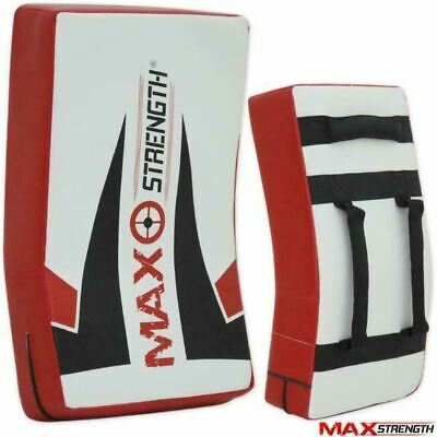 MAXSTRENGTH® Kick Boxing Punch Large Curved Strike Shield Gym Training Arm Pads