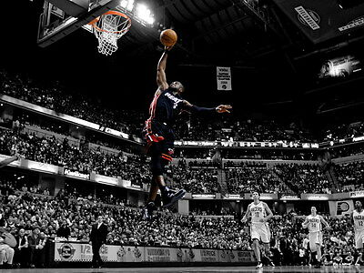D9623 Dwyane Wade Dunk Miami Heat NBA Basketball Gigantic Print POSTER