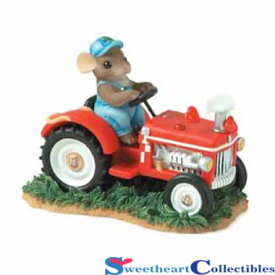 Charming Tails 84140 You Make My Heart Putter Retired Farm Tractor