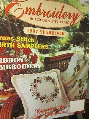Embroidery & Cross Stitch 1997 Yearbook Magazine-Bilbies In Eucalypts/Birth Samp