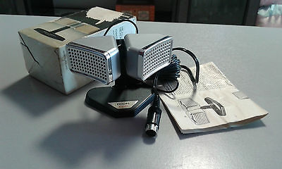Microfono Philips N8402 Vintage Anno 1973 Cardiod Stereo Microphone