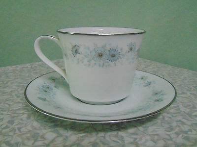 ❤ Noritake INVERNESS Cup and Saucer Set