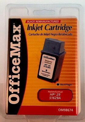 OFFICEMAX 51629A  OFFICE MAX OM98674 INK CARTRIDGE Replaces hp 29