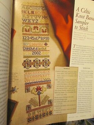 Piecework Magazine May/June 2002-Celtic Knot Band Sampler/Crochet Point D'Eglant