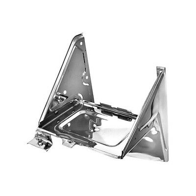 67 - 72 Chevy Pickup Truck Battery Tray Assembly With A/C Bracket - Stainless