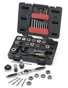 Gearwrench 3886 40 Piece Gearwrench Metric Tap And Die Set