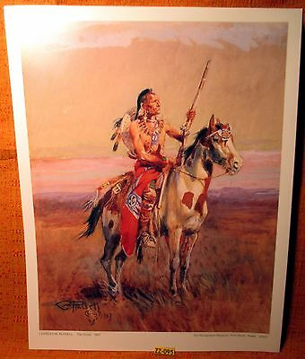Old Store Inventory ~THE SCOUT~ 11x14 Print by Charles Russell From Texas Museum