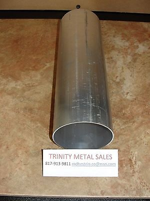 """4"""" Od X .065 Wall X 12"""" Aluminum Round Tube 6061-T6 Best Price Discounted Item!"""