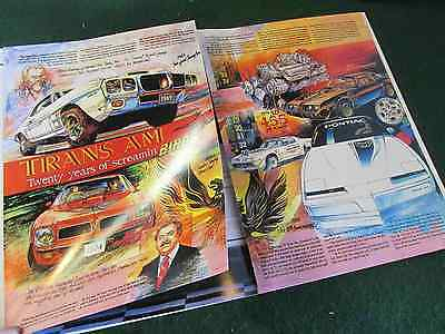 1989 20th Anniversary Turbo Trans Am Indy 500 Pace Car Color Sales Catalog