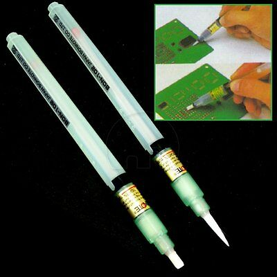 2x Electroplax Rosin Flux PEN Solar cells Panels for electrical soldering DIY