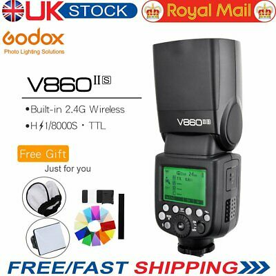 Godox V860II-S TTL II HSS 1/8000s 2.4G GN60 Li-ion Camera Flash for Sony Cameras
