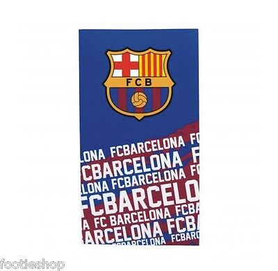 FC Barcelona Towel Large Velour Beach Towel New Official Merchandise (IP)