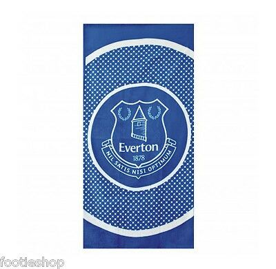 Everton FC Towel Large Velour Beach Towel New Official Merchandise (BE)