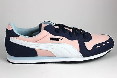 874752a6df7c Puma Men s Cabana Racer Fun 35839704 Peacoat White Crystal Rose Brand New  In Box