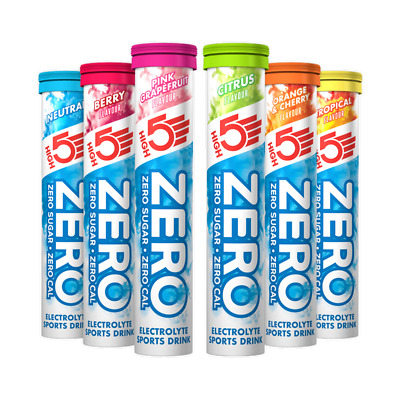 High5 Zero calories Electrolyte drink - Tube of 20 tablets - Buy 1 Get 1 Free!