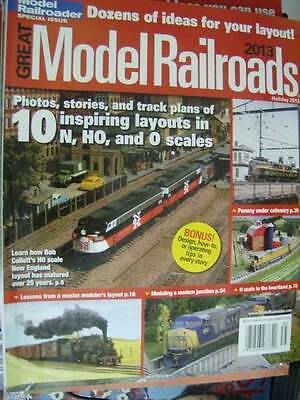 Great Model Railroads Magazine Holiday 2012-10 Layouts-N/HO/O -Collett's New Eng